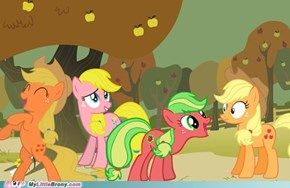 Generations of Applejack