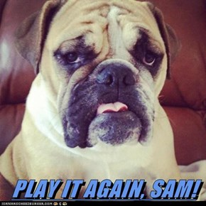 PLAY IT AGAIN, SAM!