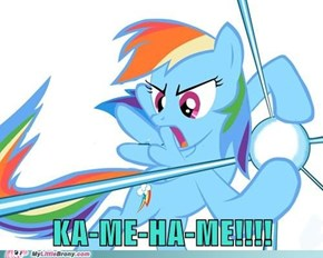 Rainbow Dash Ka-Me-Ha-Me