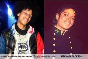 LARRY BOURGEOIS OF LES TWINS Totally Looks Like MICHAEL JACKSON