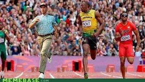 RUN FOREST RUN, WIN GOLD FOR BUBBA.