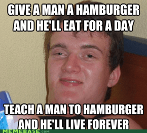 As the Hamburger Turns