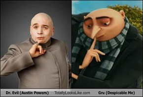 Dr. Evil (Austin Powers) Totally Looks Like Gru (Despicable Me)
