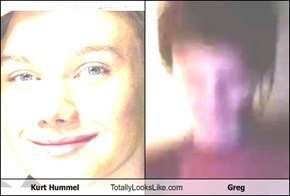 Kurt Hummel Totally Looks Like Greg