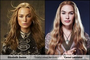 Elisabeth Swann Totally Looks Like Cersei Lannister