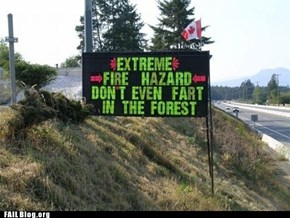 Gassy Forest FAIL