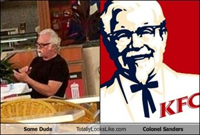 Some Dude Totally Looks Like Colonel Sanders