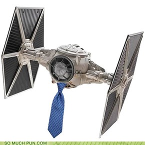 Tie fighter...get it?