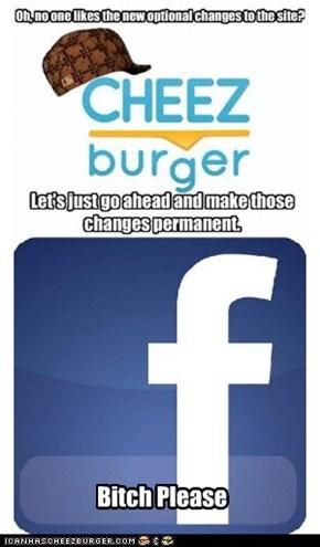Hipster facebook