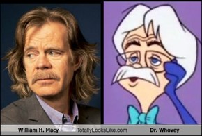 William H. Macy Totally Looks Like Dr. Whovey