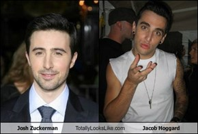 Josh Zuckerman Totally Looks Like Jacob Hoggard