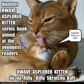 Another   BWAVE  ASPLORER  KITTEH   series  book  aimed   at  the  youngest  readers