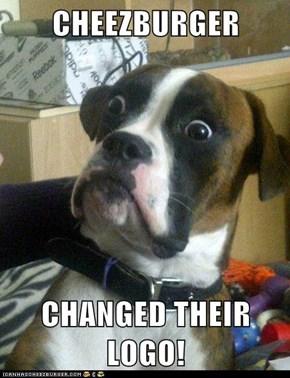 CHEEZBURGER  CHANGED THEIR LOGO!