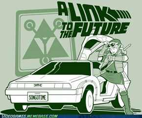 The Triforce Is the Flux Capacitor
