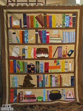 Harry Potter Quilt WIN