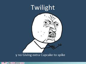 Poor Spike :|