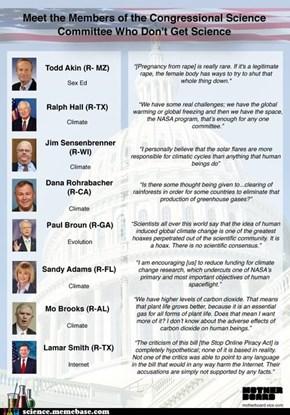 Politics and Science Still Don't Mix... Unfortunately