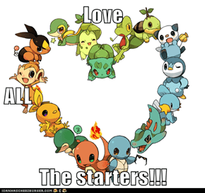 Love  ALL The starters!!!