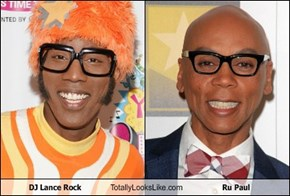 DJ Lance Rock Totally Looks Like Ru Paul