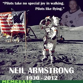 Neil Armstrong passed away today.