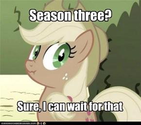We Know What You Mean, Applejack