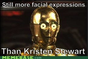 There's expressionless metal faces...and there's C-3PO