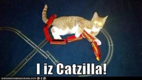I iz Catzilla!