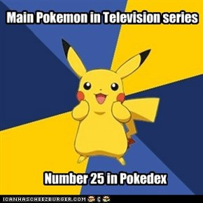 Main Pokemon in Television series