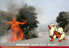 Real Fire Blast