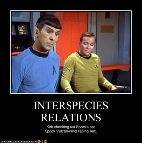 INTERSPECIES RELATIONS