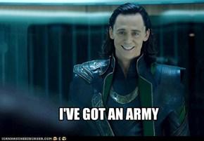 I'VE GOT AN ARMY