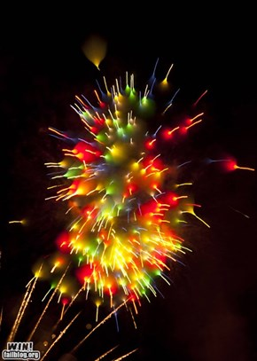Long Exposure Fireworks WIN