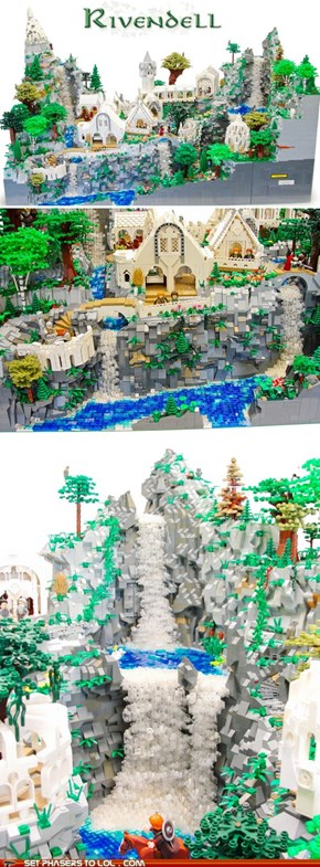 Lord of the Rings - Lego Rivendell