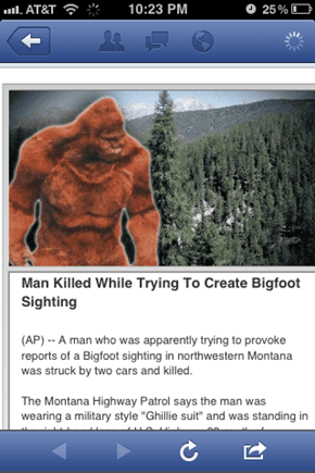 Big Foot Fall