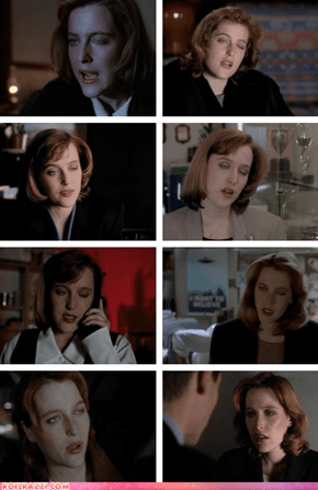 Scully, Go Home. You're too Drunk to X-Files.