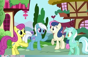 Lyra and Bon Bon Generations