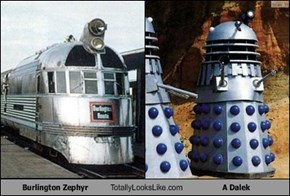 Burlington Zephyr Totally Looks Like A Dalek