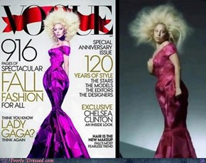 "You Knew Lady Gaga's ""Vogue"" Cover Was Photoshopped — But THIS Much?"