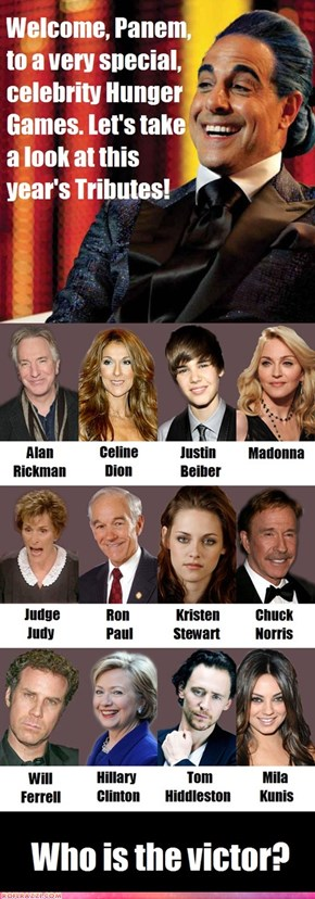 Celebrity Hunger Games