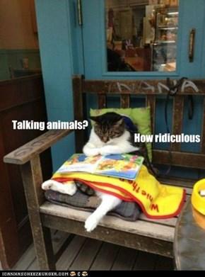 Talking animals?