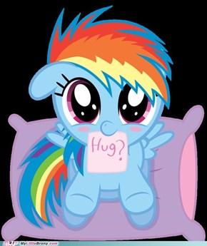 Give her a hug
