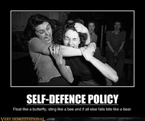 SELF-DEFENCE POLICY