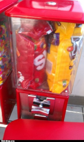 Candy Dispenser FAIL