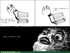 Death By Grocery Cart