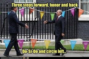 The Square Dance of diplomacy.