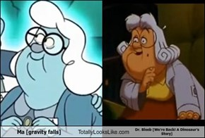 Ma [gravity falls] Totally Looks Like Dr. Bleeb [We're Back! A Dinosaur's Story]