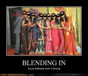 BLENDING IN