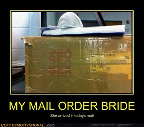 MY MAIL ORDER BRIDE