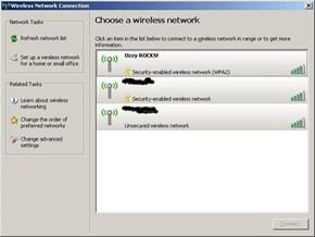 Wireless Network Win