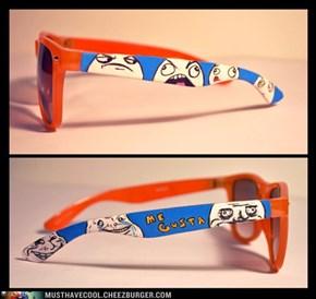 Meme sunglasses